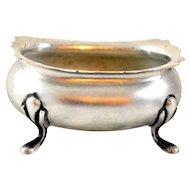 •	Fisher Sterling Silver Vintage Open Salt Cellar