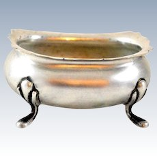 •Fisher Sterling Silver Vintage Open Salt Cellar
