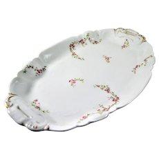 "Limoges Platter 1891 Charles Field Haviland 14 1/4"""