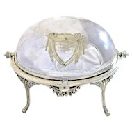 John Round and Sons - Silver Plated Breakfast Warmer