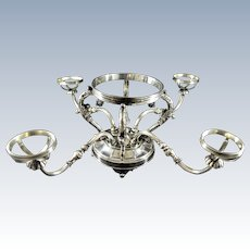Prill Silver Plate Epergne Frame