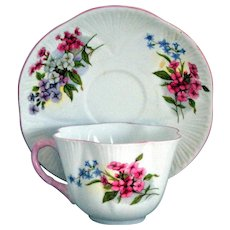 Shelley Cup Saucer Stock Pattern