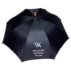 Umbrella Waldorf Astoria Memorabilia