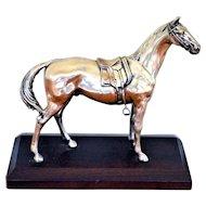 Weidlich Bros. W. B. Mfg. Co. Silver Plate Horse