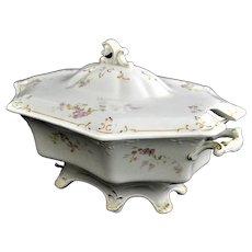 W. H. Grindley Soup Tureen Semi-Porcelain England