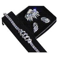 Boucher Fur Clip , Earrings, and Bracelet
