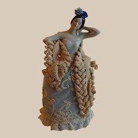 German Spanish Dancer Half Doll Pin Cushion