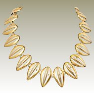 Anne Klein Cleopatra Style Necklace FINAL REDUCTION SALE in Progress