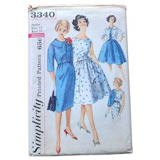 Simplicity Sewing Pattern: One-Piece Dress 2 Skirts Jacket