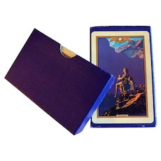 Maxfield Parrish Contentment Pinochle Playing Cards
