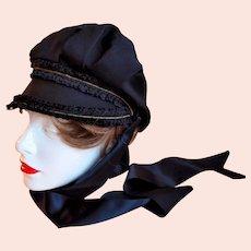 Authentic Art Deco 1920s Ladies Driving Hat