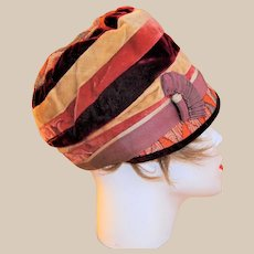 Rare Art Deco Cloche Hat by Henny Paris/New York