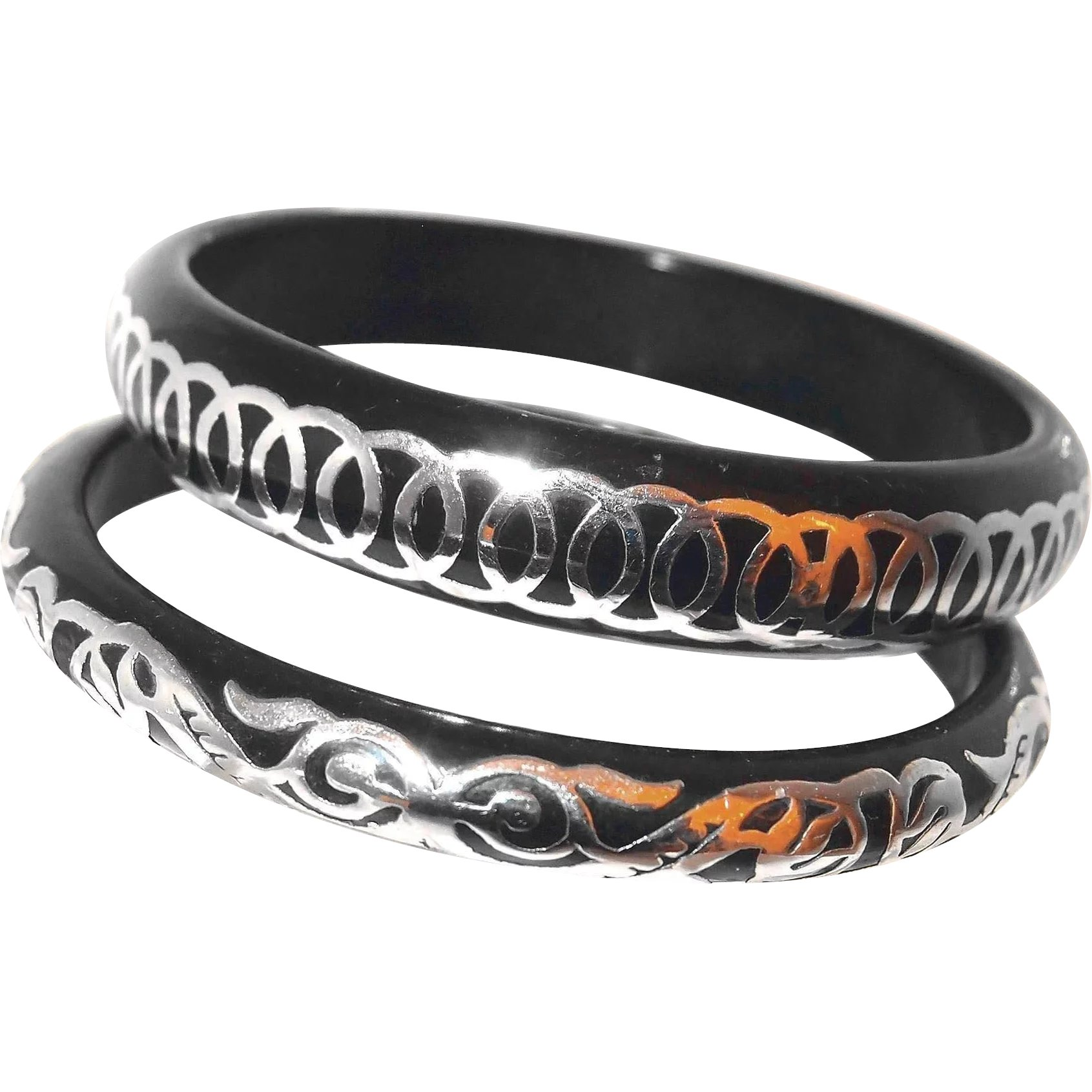 jewelry isharya oval home bangles by resin hinge muse sale bangle black p temple bracelets