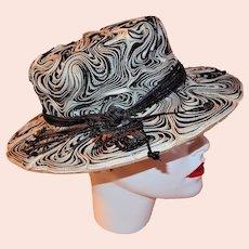 Turn of the Century Garden Hat - Rare