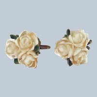 Flower Earrings Hand-made with Sea Shells Last Chance SALE