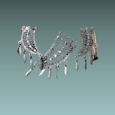Delicate Dangle Middle East Sterling Pin Earring Set