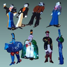 Beatles Yellow Submarine Figural Pin Set