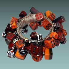 Early Plastic Dice Expansion Bracelet