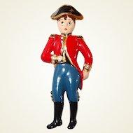 Scarce Coro Napoleon Fur Clip Figural Pin
