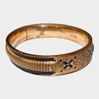 SIMMONS Talle d' Eparqne Gold-filled Bangle
