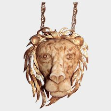 Razza Lion Pendant Necklace - Zodiac