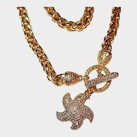 Starfish Designer Toggle Chain Necklace
