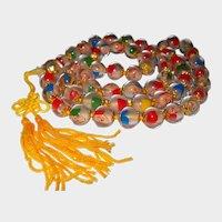 Long Strand CHINESE Seven Gods Prayer Beads