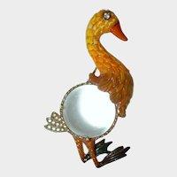 CRAFT Enamel Duck Jelly Belly Brooch
