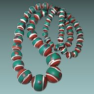 Early Clay Native American Trade Beads