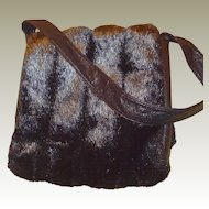 Faux Fur Shoulder Handbag with Original Tag in FINAL REDUCTION SALE