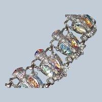 Last Chance SALE DE Jug Motif Bracelet Dragon Breath Cabochons