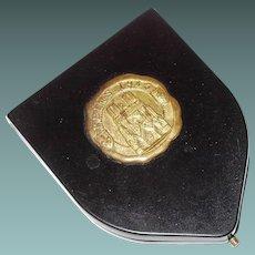 Reims 1945 Bakelite Souvenir Compact FINAL REDUCTION SALE