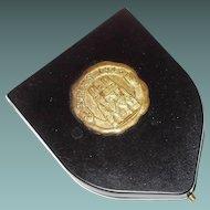 Reims 1945 Bakelite Souvenir Compact