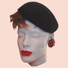 45e53bdde Vintage Women's Vintage Fashion Hats on Sale | Ruby Lane