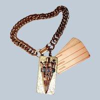 Umbrella Motif Address Book Charm Bracelet Last Chance SALE