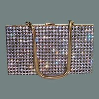 50% off Shop from Home Sale Carryall Paved Rhinestone Purse Compact Cigarette Vanity Case