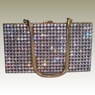 Paved Rhinestone Purse Compact Cigarette Vanity Case FINAL REDUCTION SALE