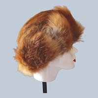 Red Fox Fur Hat Hand-Made in Poland Last Chance SALE