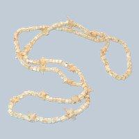 RARE Snake Bone Native American Hopi Necklace Last Chance SALE