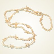 RARE Snake Bone Native American Hopi Necklace