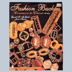 Schiffer Book for Collectors: Fashion Buckles Common to Classic