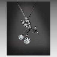 Art Nouveau Antique Diamond Necklace