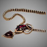 Mid 19th Century Snake Necklace