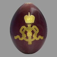 Empress Maria Russian Porcelain Egg