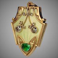 Superb Art Nouveau Antique Locket