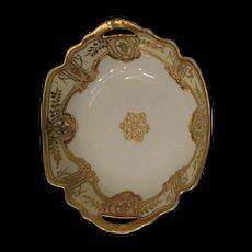 Nippon Royal Crockery (RC) bowl  Stunning gold beading