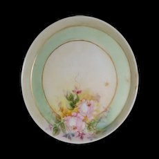 Miniature, plate Handpainted