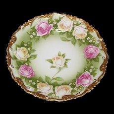 Philip Rosenthal & Co.  Dish Bavaria    Roses galore