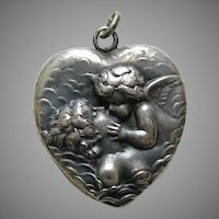 Unger Love's Dream Sterling Heart Locket