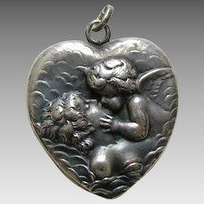 Unger Love's Dream Sterling Heart Locket